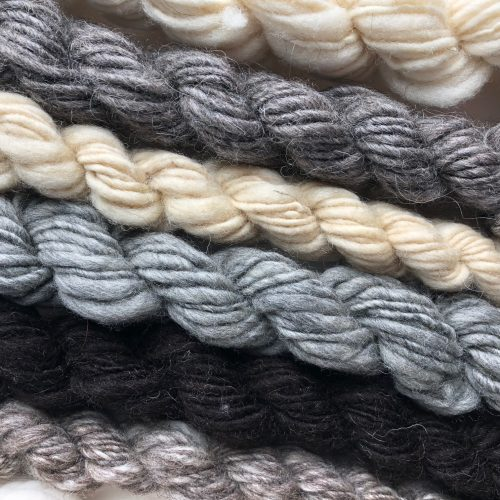 Lanolizing Wool for a Natural Color Work Project – January